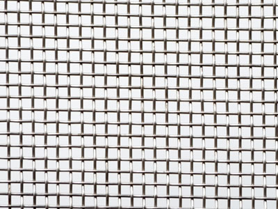 The woven wire mesh is weaved by the low carbon steel with the square holes.